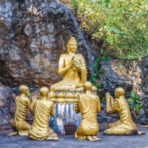 Laos Luang Prabang Mount Phou Si