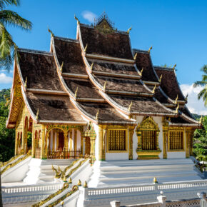 Laos- Luang Prabang National Museum