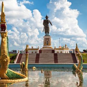 Laos Vientiane Anouvong Park