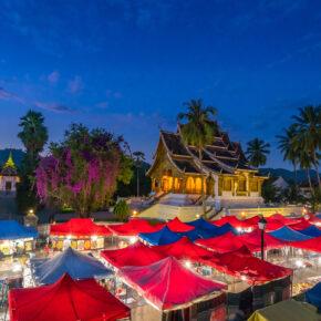 Laos Vientiane Night Market
