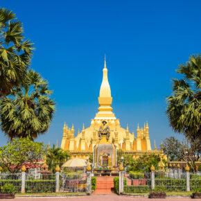 Laos Vientiane Pha That Luang