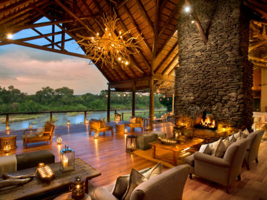 Lion Sands Private Game Reserve Lounge