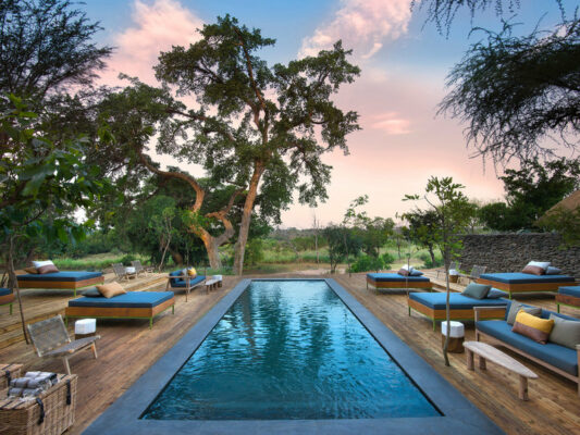 Lion Sands Private Game Reserve Pool