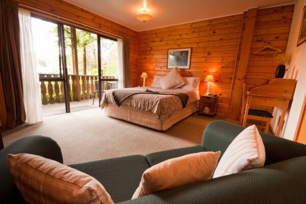Luxus Chalet Wohnzimmer