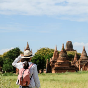 Myanmar Bagan Backpacking Wandern