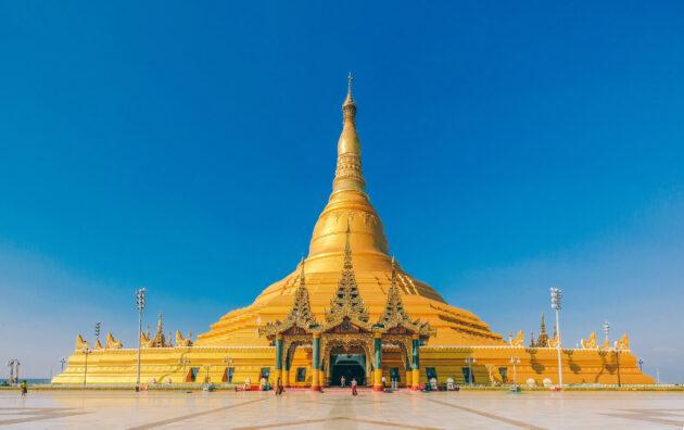 Myanmar Naypyidaw Uppatasanti Pagoda