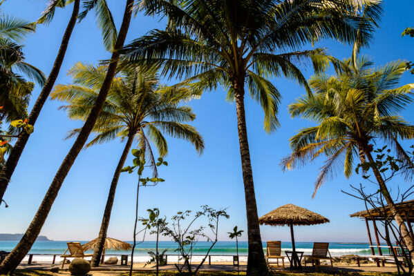 Myanmar Ngapali Beach