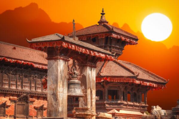 Nepal Bhaktapur Tempel