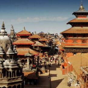 Nepal Kathmandu Durbar Suqare