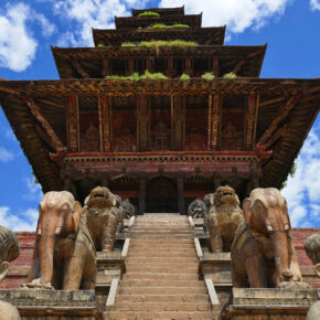 Nepal Nyatapola Tempel