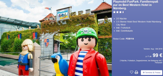 Playmobil FunPark Angebot