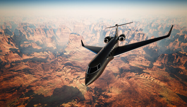 Privatjet Canyon