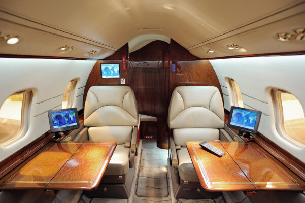 Privatjet Interieur