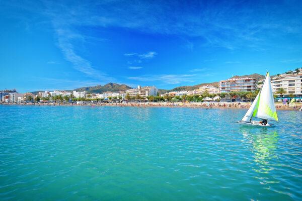 Spanien Katalonien Roses Beach