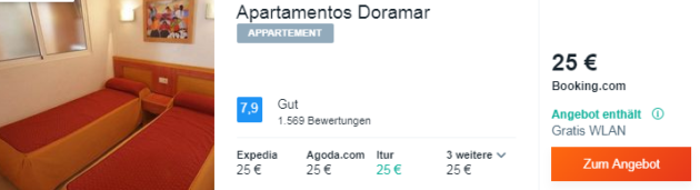 8 Tage Spanien