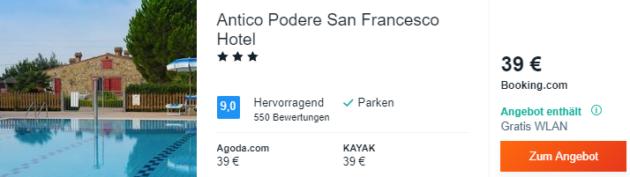 8 Tage Toskana Hotel