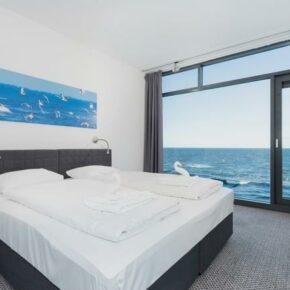 Ferienwohnung Ostseeküste Schlafzimmer