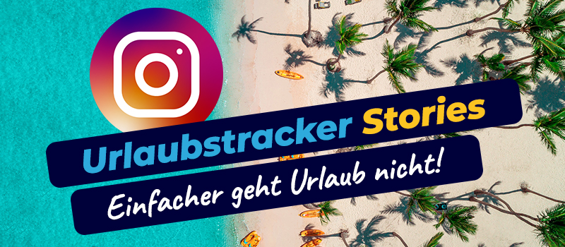 Urlaubstracker Instragram