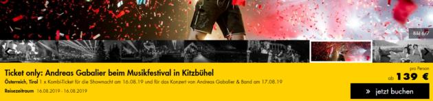 Andreas Gabalier Kitzbühel