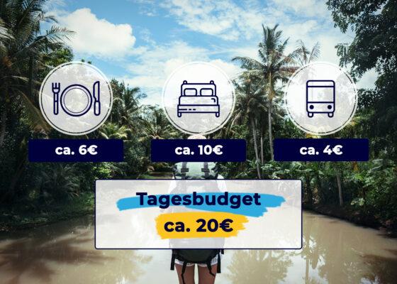 Backpacking Laos Grafik