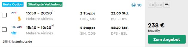 15 Tage Singapur