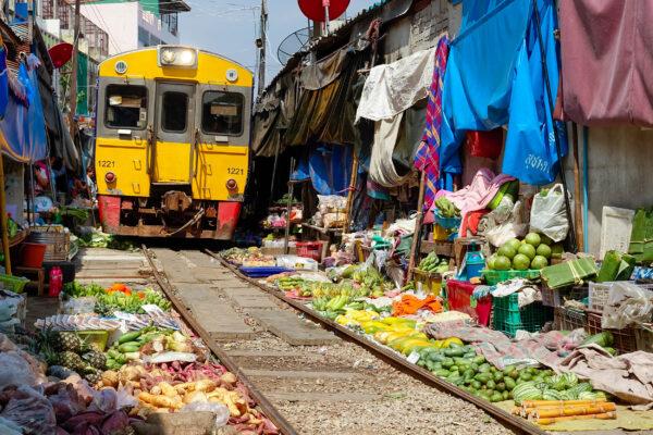 Bangkok Maeklong Markt