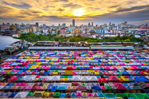 Bangkok Nachtmarkt