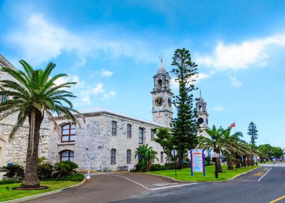 Bermuda Two Clock Towers