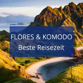 Beste Reisezeit für Flores & Komodo: Das Klima auf Indonesiens Sundainseln