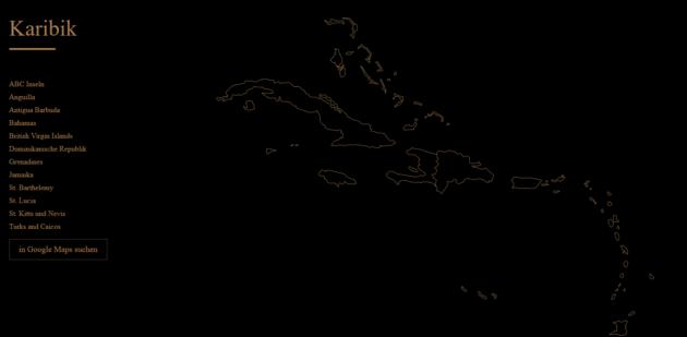 Designreisen Karte