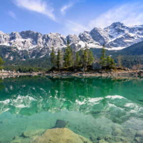 Heimat-Urlaub: 2 Tage Bayern nahe Eibsee mit tollem TOP 4* Romantik-Hotel inkl. Wellness für 66€