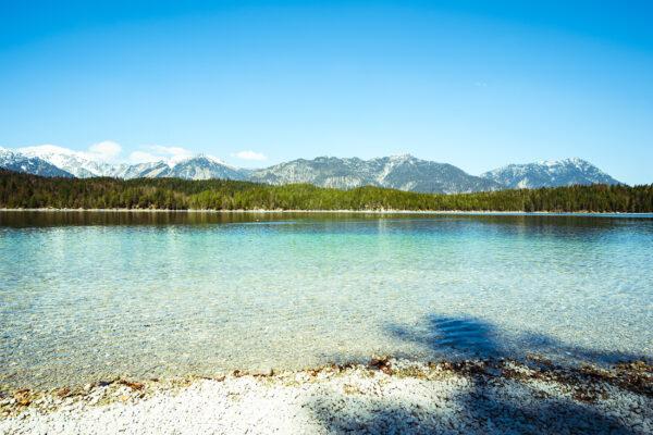 Deutschland Bayern Eibsee See