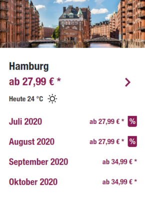 Eurowings Flugsale