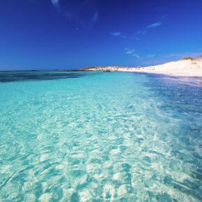 Griechenland Kreta Insel Elafonissi Meer