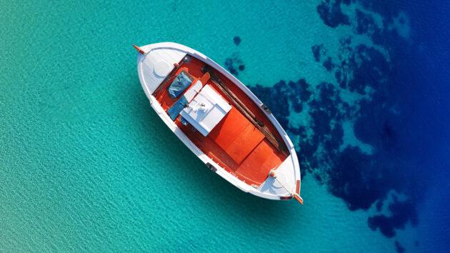 Griechenland Kreta Schiff