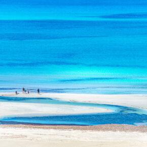 Griechenland Kreta Strand Türkis