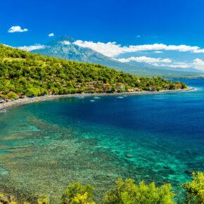 Indonesien Bali Amed Beach