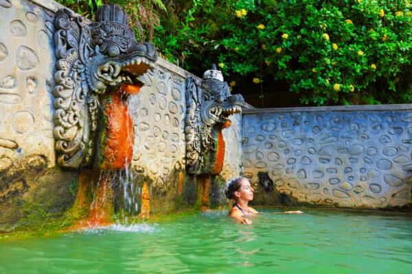 Indonesien Bali Banjar Hot Springs