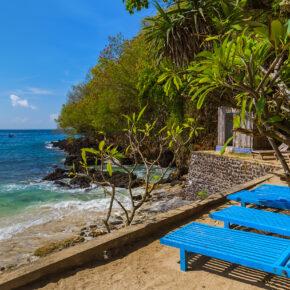 Indonesien Bali Blue Lagoon Beach