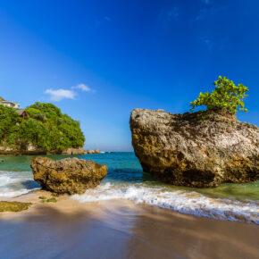 Indonesien Bali Padang Padang Beach