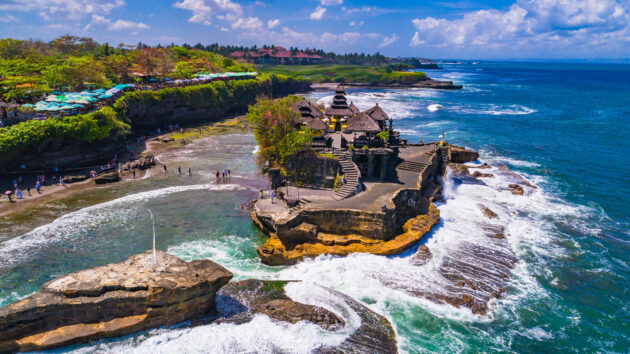Indonesien Bali Tanah Lot Tempel