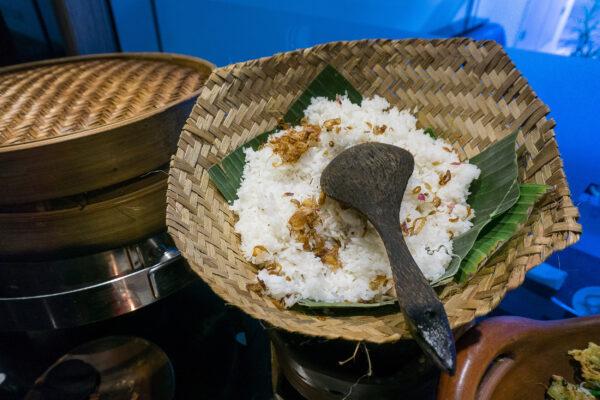Indonesien Essen Nasi Uduk