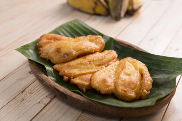 Indonesien Essen Pisang Goreng