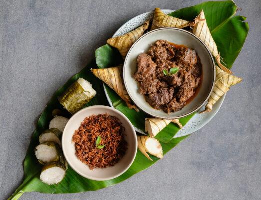 Indonesien Essen Rendang