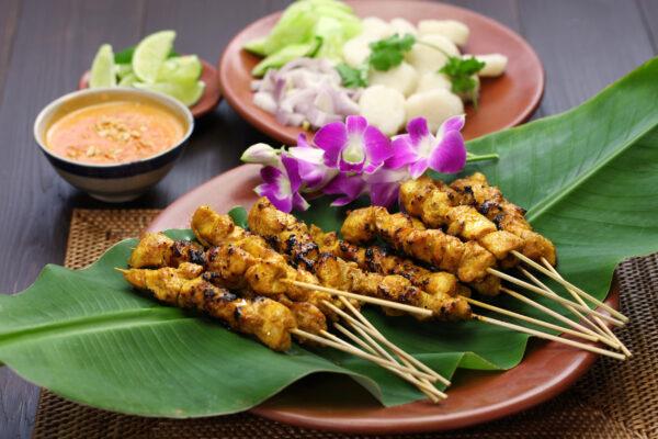 Indonesien Essen Sate Ayam
