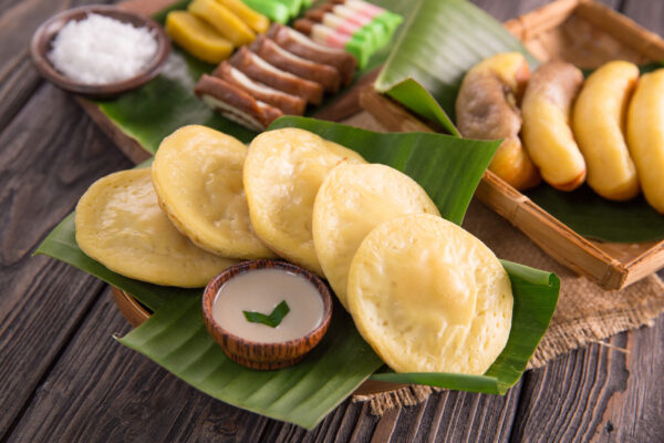 Indonesien Essen Serabi
