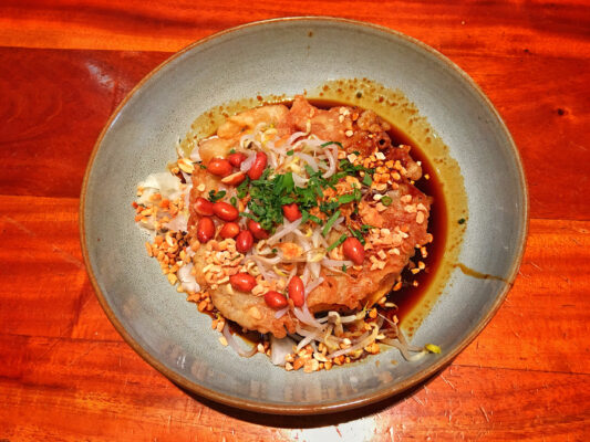 Indonesien Essen Tahu Telur