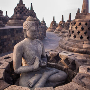 Indonesien Java Borobudur