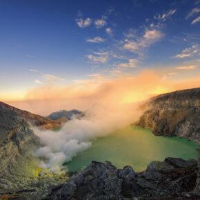 Indonesien Java Ijen Vulkan