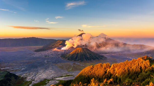 Indonesien Java Mount Bromo